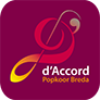 Popkoor d'Accord Logo